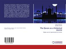Buchcover von The Quran as a historical source