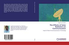 Couverture de The Effects of Solar Radiation on Communication