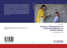 Обложка Teachers' Management of Learner Discipline in a Primary School