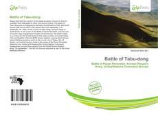 Portada del libro de Battle of Tabu-dong
