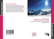 Обложка Province de Trieste