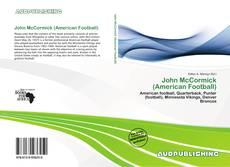 Buchcover von John McCormick (American Football)