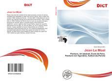 Jean Le Moal kitap kapağı