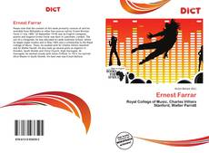 Bookcover of Ernest Farrar