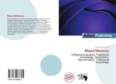 Bookcover of Blood Memory