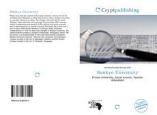 Bookcover of Bunkyo University