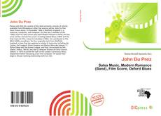 Bookcover of John Du Prez