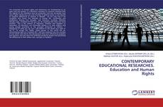Обложка CONTEMPORARY EDUCATIONAL RESEARCHES. Education and Human Rights