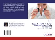 Couverture de Research on Web Portal for Managing Research and Development