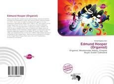 Edmund Hooper (Organist) kitap kapağı