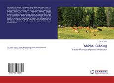 Bookcover of Animal Cloning