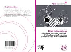 Bookcover of Gerd Brantenberg