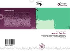Bookcover of Joseph Bernier