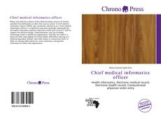Copertina di Chief medical informatics officer