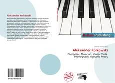 Bookcover of Aleksander Kolkowski