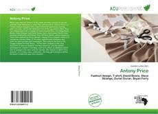 Bookcover of Antony Price