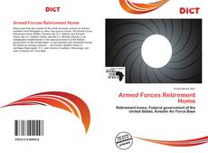 Bookcover of Armed Forces Retirement Home