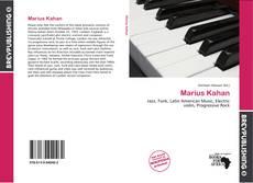Buchcover von Marius Kahan