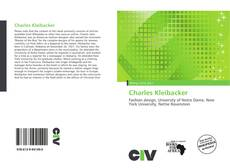 Bookcover of Charles Kleibacker