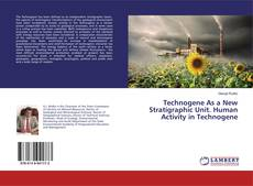 Bookcover of Technogene As a New Stratigraphic Unit. Human Activity in Technogene