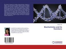 Biochemistry and its functions kitap kapağı