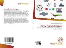 Portada del libro de Henry Thomas Pringuer