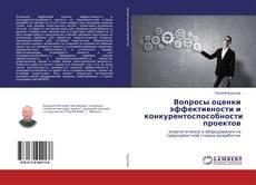 Copertina di Вопросы оценки эффективности и конкурентоспособности проектов