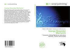 Couverture de George Alexander Macfarren