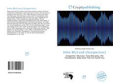 Bookcover of John McLeod (Songwriter)