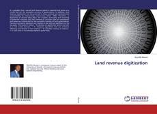 Обложка Land revenue digitization