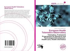 Bookcover of European Health Telematics Observatory