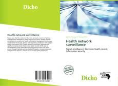 Обложка Health network surveillance