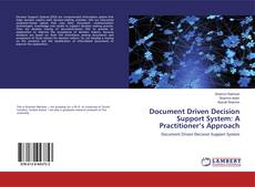 Buchcover von Document Driven Decision Support System: A Practitioner's Approach