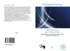 Capa do livro de Karl Blossfeldt
