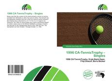 Bookcover of 1996 CA-TennisTrophy – Singles
