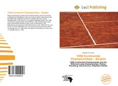 Bookcover of 1996 Continental Championships – Singles