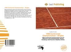 Buchcover von 1996 Continental Championships – Singles