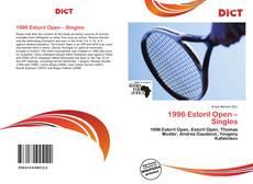 Buchcover von 1996 Estoril Open – Singles
