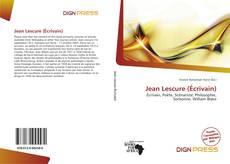 Bookcover of Jean Lescure (Écrivain)