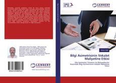 Capa do livro de Bilgi Asimetrisinin Vekalet Maliyetine Etkisi