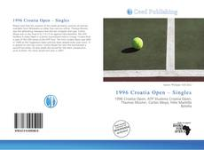 Buchcover von 1996 Croatia Open – Singles