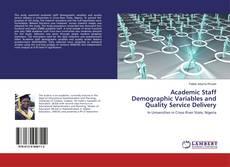 Capa do livro de Academic Staff Demographic Variables and Quality Service Delivery
