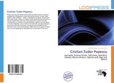 Bookcover of Cristian Tudor Popescu