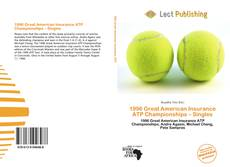 Bookcover of 1996 Great American Insurance ATP Championships – Singles