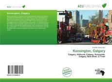 Buchcover von Kensington, Calgary