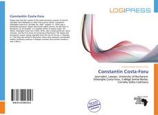Bookcover of Constantin Costa-Foru