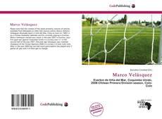 Capa do livro de Marco Velásquez