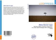 Bookcover of Abies Borisii-regis