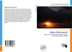Bookcover of Abies Chensiensis