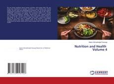 Portada del libro de Nutrition and Health